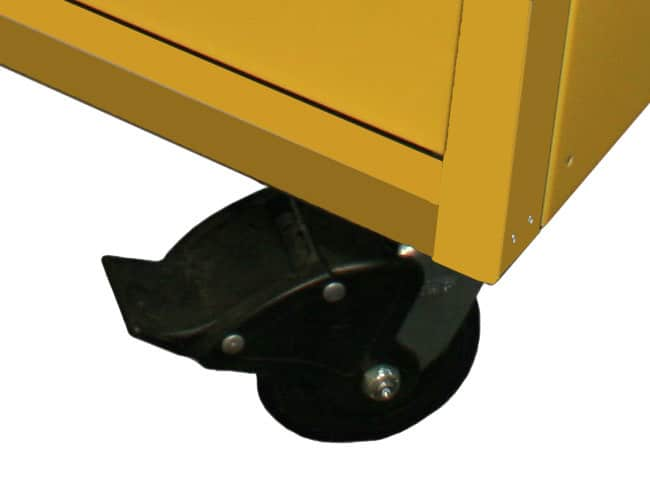 """5"""" Double Locking Casters Included With 32"""" Wide QuikDraw® Tool Boxes"""