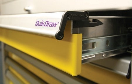 Moduline Cabients QuikDraw® Single Action Latch System