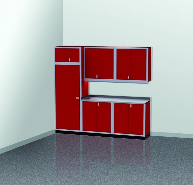Moduline Hanging Wall Cabinets for Garage Storage
