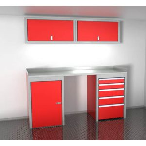 SportsmanII Aluminum Trailer And Vehicle Cabinet Combination 72″ Wide #SPTC006-050