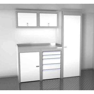SportsmanII Aluminum Trailer And Vehicle Cabinet Combination 72″ Wide #SPTC006-060