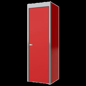 SportsmanII Aluminum Closet Cabinet 75″H X 24″D X 24″W, With Adjustable Shelf And Closet Pole