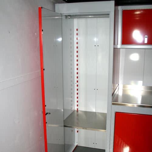Sportsman II™ Aluminum Closet Open