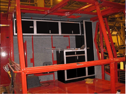 Moduline Cabinets Industrial Crane Fitting